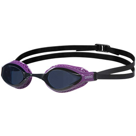 arena Airspeed Swimglasses dark smoke/purple